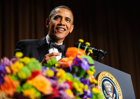 """President Obama Enters To """"All I Do Is Win"""" at White House Dinner & Talks Jay-Z [VIDEO]"""