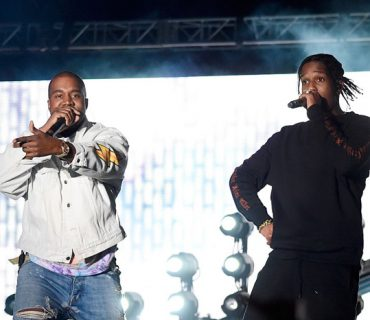 A$AP Rocky Brings Out Kanye West at Coachella [VIDEO]