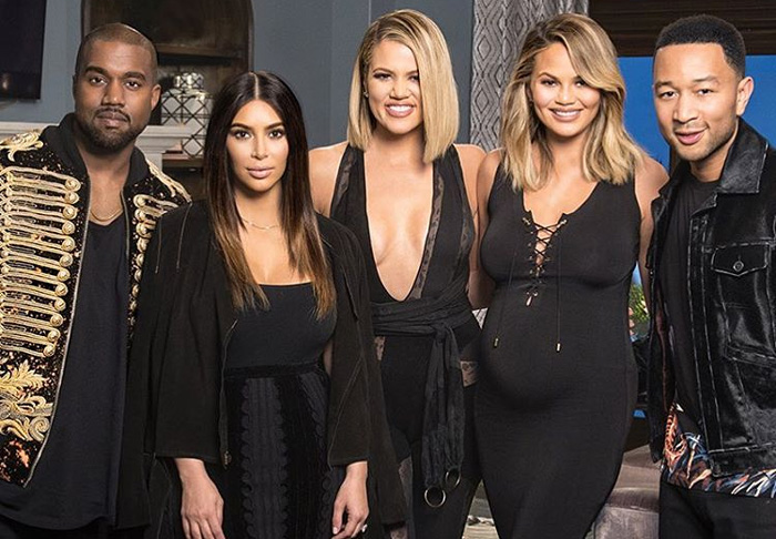 Kanye West & Kim Kardashian Guest on Kocktails with Khloé [VIDEO]