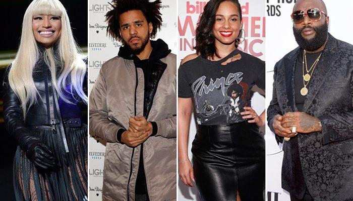 Nicki Minaj, J. Cole, Alicia Keys & Rick Ross Meet With President Obama [VIDEO]