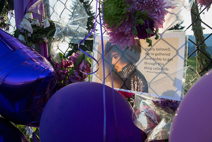 Prince Celebrated & Mourned at Private Memorial [VIDEO]