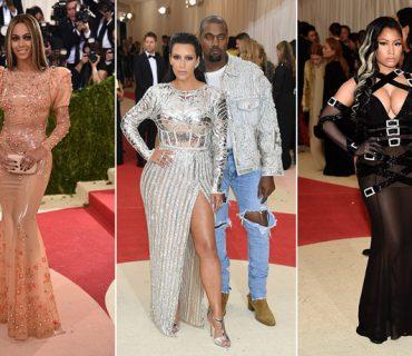 Photos: Met Gala 2016 Red Carpet – Beyoncé, Kanye West & Nicki Minaj