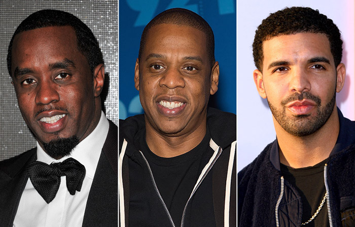Diddy, Dr. Dre Jay Z, & Drake Named Among Wealthiest Artists in 2016 [VIDEO]