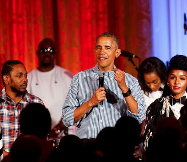 Kendrick Lamar and  Janelle Monáe Perform at the White House [VIDEO]