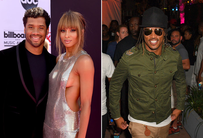 Reportedly Ciara is Afraid Future Will Murder Russell Wilson