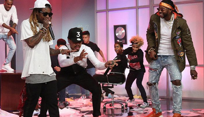 """Chance the Rapper, Lil Wayne & 2 Chainz Perform """"No Problem"""" on Ellen [VIDEO]"""