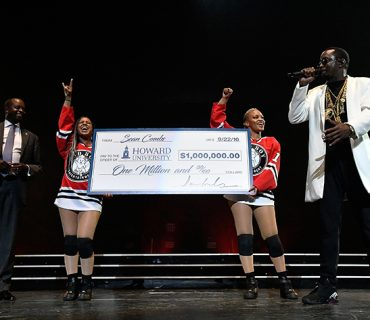 Diddy Donates $1 Million Dollars to Howard University [VIDEO]