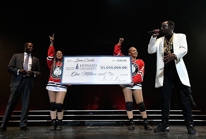 Diddy Donates $1 Million Dollars to Howard University [VIDEO]