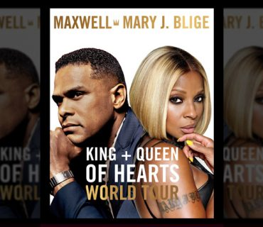 "Maxwell and Mary J. Blige Announce ""The King and Queen of Hearts World Tour"""