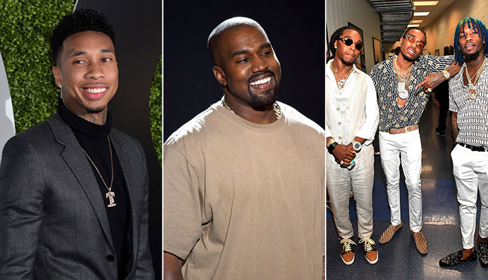 Kanye West Signed Tyga and Migos to G.O.O.D. Music [VIDEO]