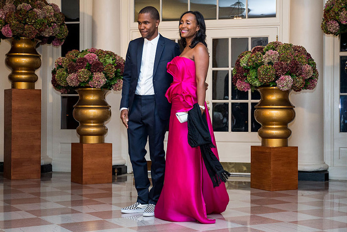 Photos: Chance the Rapper & Frank Ocean Attend President Obama's Final State Dinner