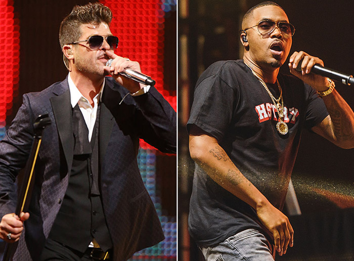 """New Music: Robin Thicke Feat. Nas – """"Deep"""""""