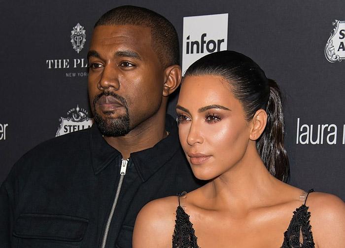 Rumor Report: Kanye West & Kim Kardashian are Not Divorcing