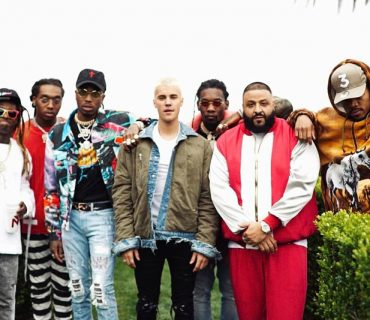 Photos: DJ Khaled Shoots a Video With Justin Bieber, Chance the Rapper, Migos and Lil Wayne