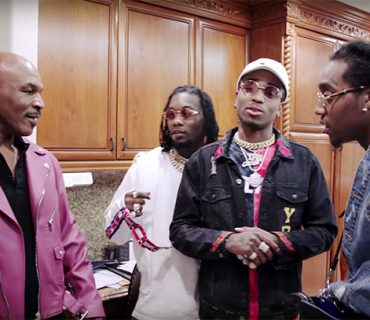 Mike Tyson Gives a Tour of His Mansion to The Migos [VIDEO]