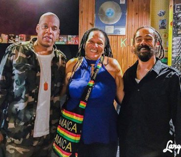 Jay Z Collaborates With Damian Marley in Kingston