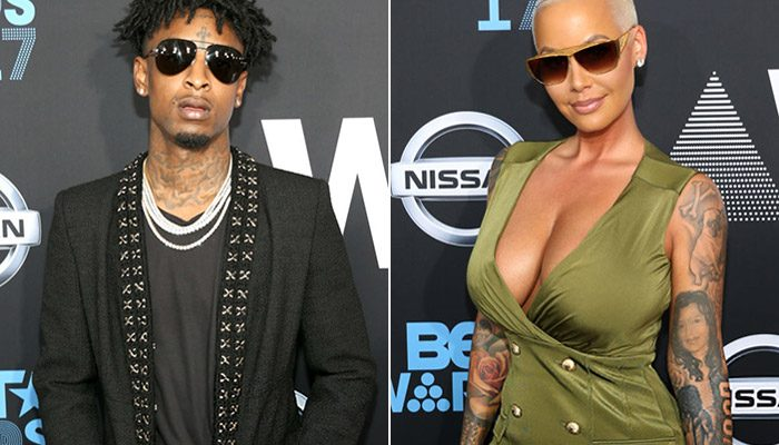 21 Savage Confirms Relationship With Amber Rose [VIDEO]