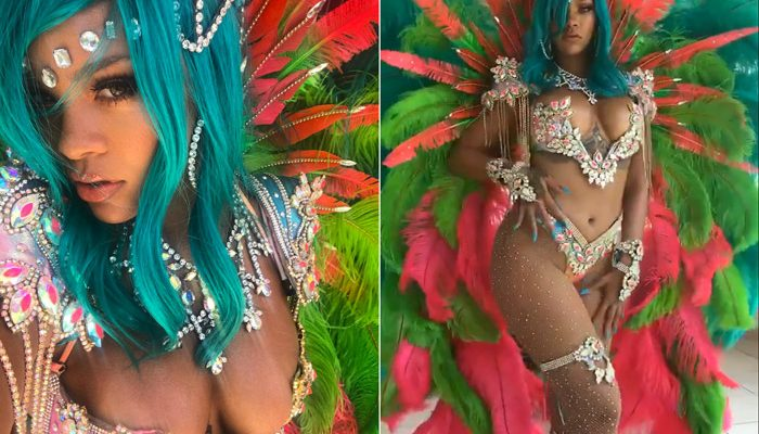 """Photos: Rihanna Steps Out at """"Crop Over"""" Festival"""