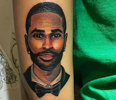 Photos: Jhené Aiko Gets a Big Sean Tattoo