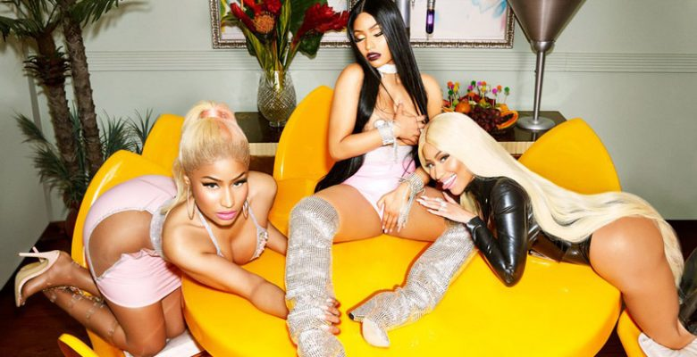 "Photos: Nicki Minaj's ""Minaj à Trois"" Paper Magazine Cover"