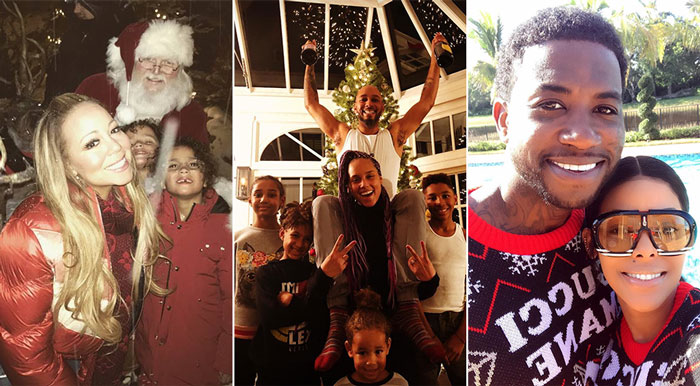 Photos: Diddy, Mariah Carey, Gucci Mane & More Celebrate Christmas