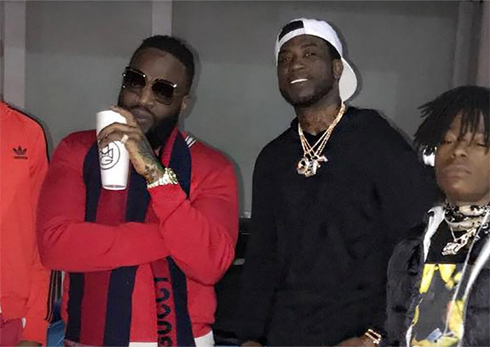 Photos: Rick Ross Steps Out With Gucci Mane After Health Scare