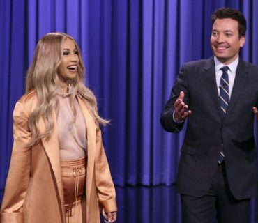 """Cardi B Makes History as the First Co-Host on the """"Tonight Show"""" [VIDEO]"""