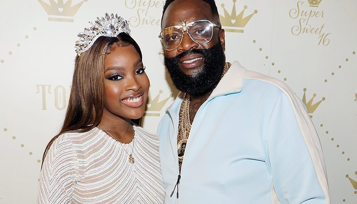 Rick Ross Throws a Lavish Sweet 16 Party for his Daughter's Birthday
