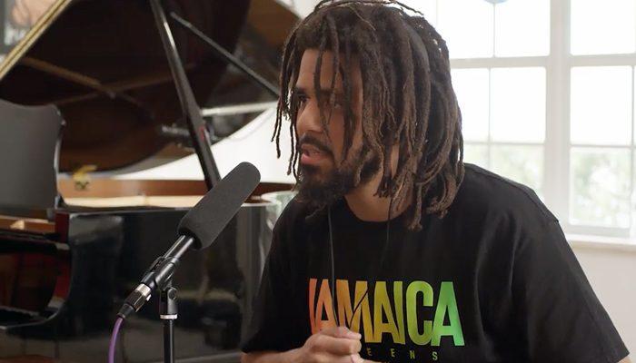 J. Cole Talks Kanye West, Social Media, Kendrick Lamar & More [VIDEO]