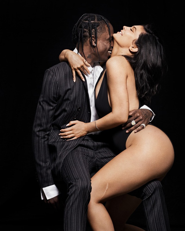 Photos: Travis Scott & Kylie Jenner Cover GQ Magazine [VIDEO]