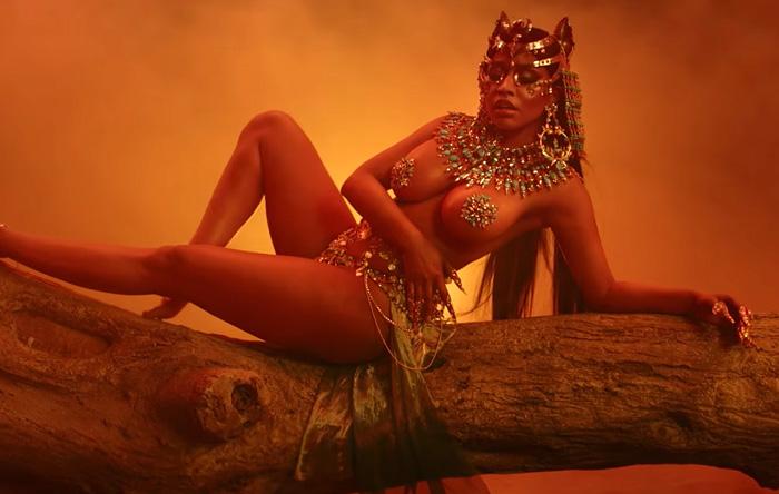 "Nicki Minaj – ""Ganja Burn"" [NEW VIDEO] + ""Queen"" Album Stream"