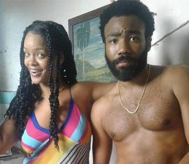 Rihanna & Donald Glover Shoot a Film in Cuba [PHOTOS]