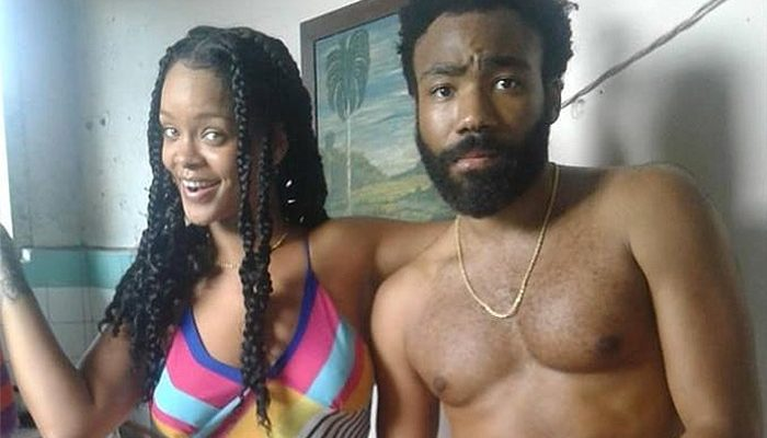 Rihanna & Donald Glover Shoot a Film in Cuba [PHOTOS]
