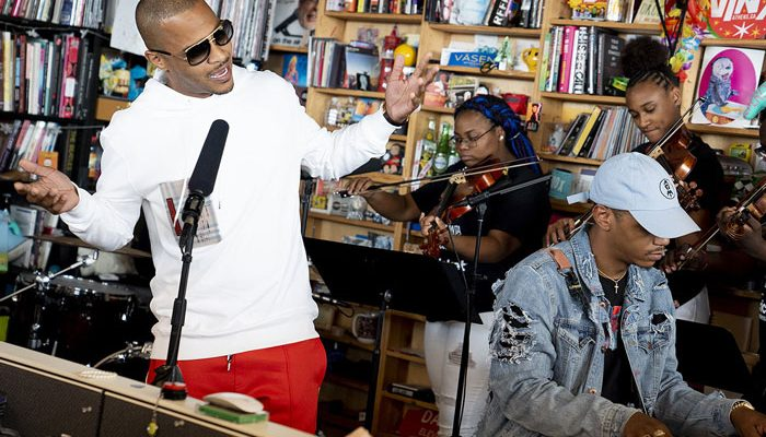 """T.I. Performs Some of His Classics at NPR's """"Tiny Desk Series"""" [VIDEO]"""
