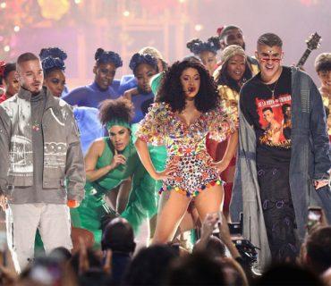 "Cardi B, Bad Bunny & J Balvin Perform ""I Like It"" at the American Music Awards [VIDEO]"