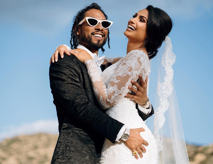 Photos: Miguel Weds Longtime Girlfriend Nazanin Mandi