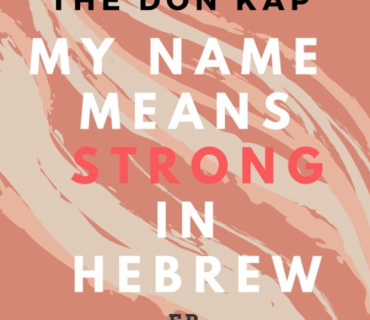 "Mixtape Download & Stream: The Don Kap – ""My Name Means Strong in Hebrew"""