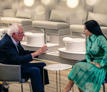 Cardi B Interviews Senator Bernie Sanders [VIDEO]