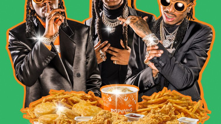 The Migos Scored a Deal With Popeyes and UberEats [VIDEO]