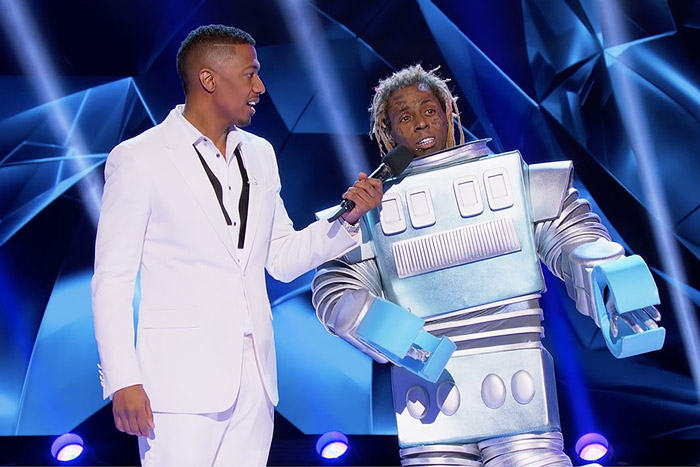 Lil Wayne Revealed as the Robot on 'The Masked Singer' [VIDEO]