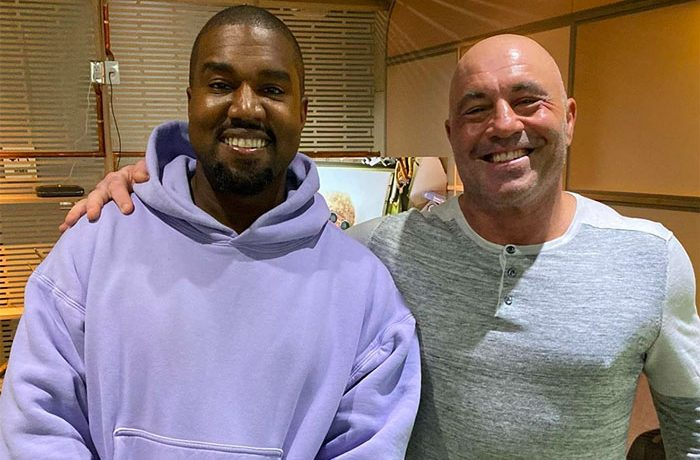 Kanye West Joins Joe Rogan For 'The Joe Rogan Experience' [VIDEO]
