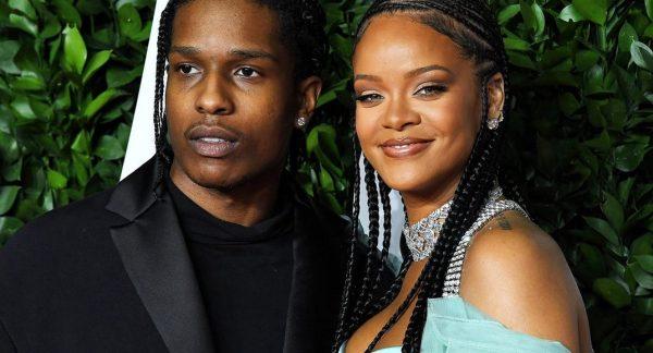 Rihanna & A$AP Rocky Meet Up Gor Date Night in New York