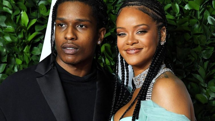 Rihanna & A$AP Rocky Meet Up Gor Date Night in New York
