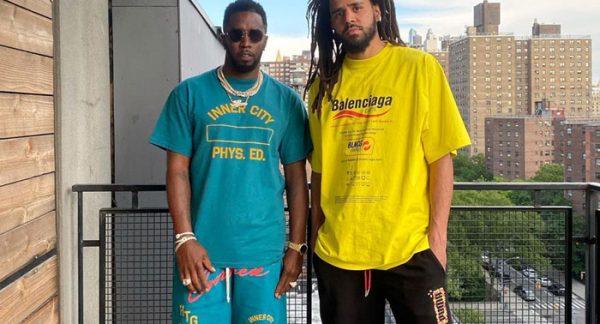 J. Cole & Diddy Reunite [VIDEO]